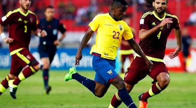 AÑO 2015: La Vinotinto cae en el abismo perdió 1-3 ante Ecuador en Cachamay