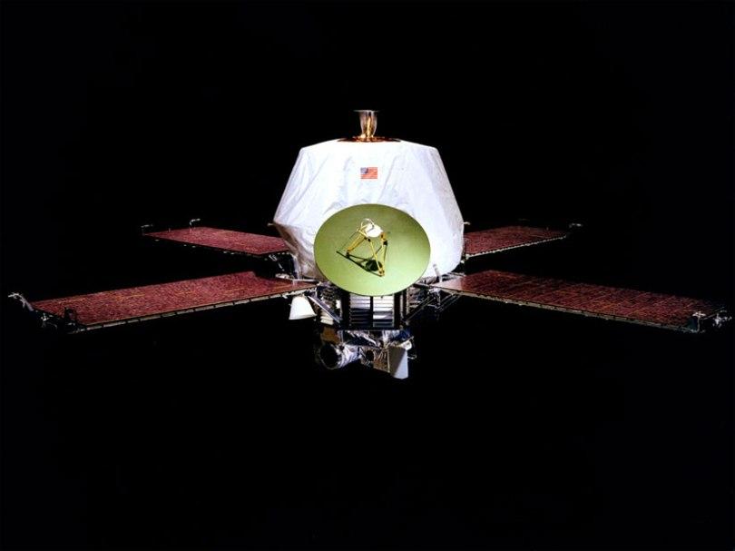 Foto El-satélite-Mariner-9