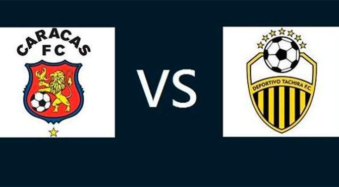 Logo Caracas FC y Tachira