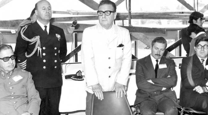 Foto Salvador Allende muere