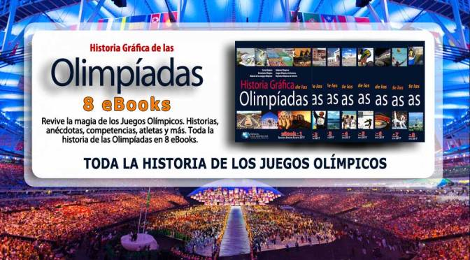 Historia Gráfica de las Olimpíadas, 8 eBooks en (PDF).